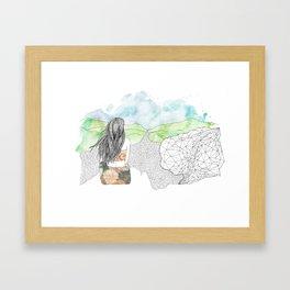 Angel's Rest Framed Art Print