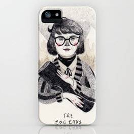 The Log Lady iPhone Case