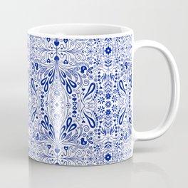 Chinoiserie Folk Seamless Pattern Coffee Mug