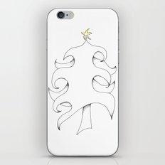 Pointillist Tree iPhone & iPod Skin