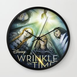 A Wrinkle in Time Wall Clock