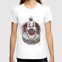 Killer Clown (Pen & Ink) T-shirt