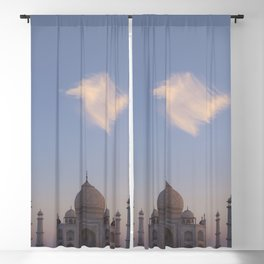 Taj Mahal Blackout Curtain
