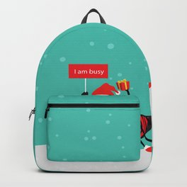 Busy Ant.Merry christmas Backpack