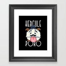 Hercule Poro Framed Art Print