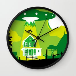 LOST TIME :: NOCTURNAL VISITATION II Wall Clock