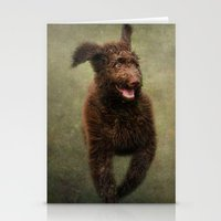 muppet Stationery Cards featuring I am not a Muppet...I am a Labradoodle!!!! by Pauline Fowler ( Polly470 )