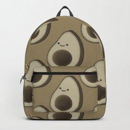 Vintage Style Avocado Pattern Backpack