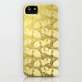 Scrooge Piles iPhone Case