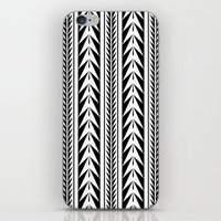 moroccan iPhone & iPod Skins featuring Moroccan Stripes by Caitlin Workman