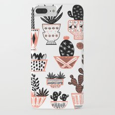 Mid-Century Modern Cacti  Slim Case iPhone 7 Plus