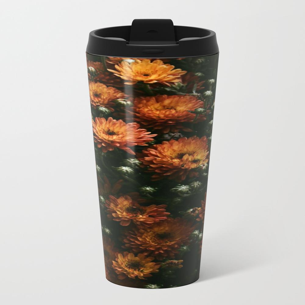 Floral Textures Travel Mug TRM7658382