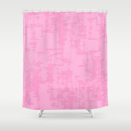 Cotton Candy Naturalistic Shower Curtain