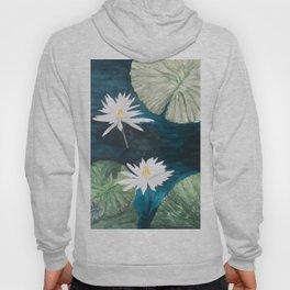 White Water Lilies Hoody