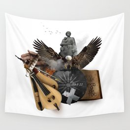 19 // 22 (Totem of the Eagle) Wall Tapestry