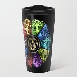 Magic the Gathering - Faded Guild Wheel Travel Mug