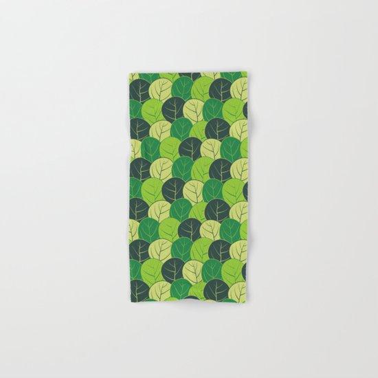 Spring forest Hand & Bath Towel
