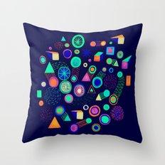 Galaxies II Throw Pillow