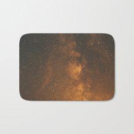 The Milky Way (Forest Landscape Photography, Starry Night Sky Photo) Bath Mat