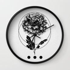 Inked II Wall Clock