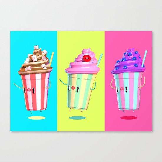 Milkshake Day Canvas Print