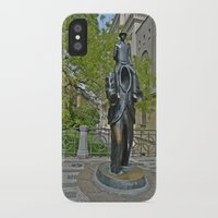 kafka iPhone & iPod Cases featuring Kafka by theartofloganwebb