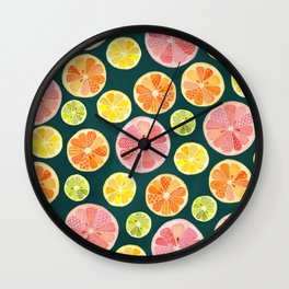 Life in Your Years (Dark) Wall Clock