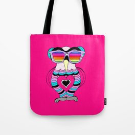 Lily rainbow glasses collection Tote Bag