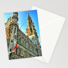 Grand Place Brussels Stationery Cards