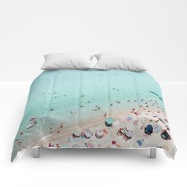 Busy Beach Comforters