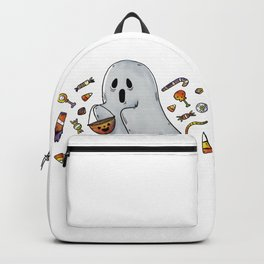 Trick or Treating Halloween Ghost Backpack