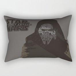 Millennium Falcon & Kylo Ren Rectangular Pillow
