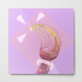 #Fiber #Flame - 20160928 Metal Print