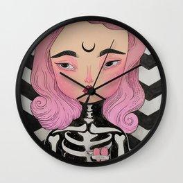 SKULLY ♡ KELLY Wall Clock