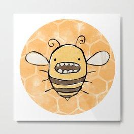 Bee Mine Metal Print