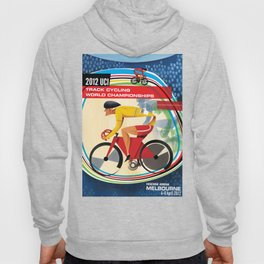 UCI Melbourne World Cycling Championships Poster with Text Hoody