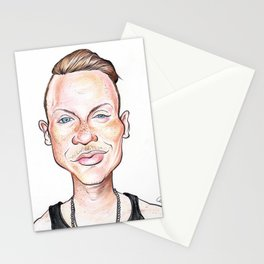 Macklemore Caricature Stationery Cards