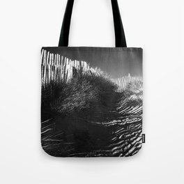 Fencing On The Beach Tote Bag