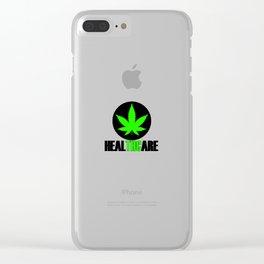 Cannabis THC 420 Legalization Amsterdam Clear iPhone Case