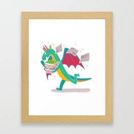 In A Hurry Framed Art Print