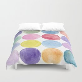 dotted and well organized Duvet Cover
