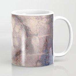 Lost Eye - Mixed Media Acrylic Abstract Modern Art, 2009 Coffee Mug