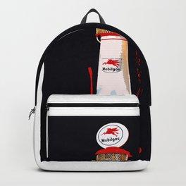 Mobil Gas Vintage Pump Backpack