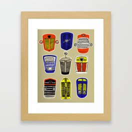 Bertie Framed Art Print