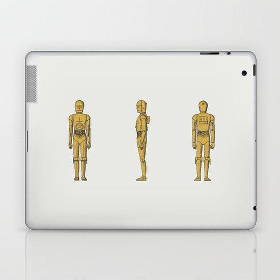 C-3PO Laptop & iPad Skin