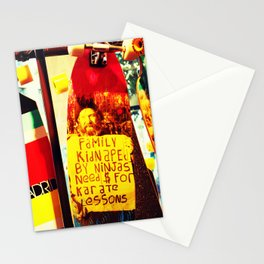 Kidnapped Stationery Cards