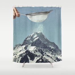 Sifted Summit Shower Curtain