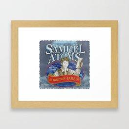 Samuel Atoms Framed Art Print