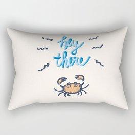 Hey Crab Rectangular Pillow