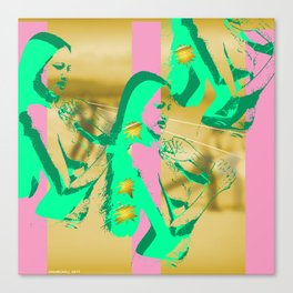 Aloha Pink Sabbath Canvas Print